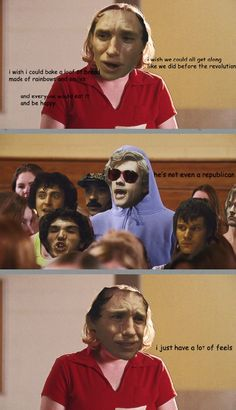 Oh my god this is the best Les Mis/Mean Girls yet...