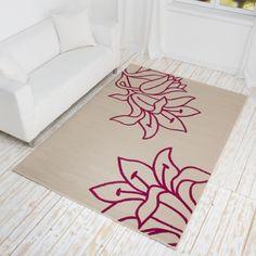 1000 images about designer teppich fiora kurzflor teppich mit blumen muster on pinterest ux. Black Bedroom Furniture Sets. Home Design Ideas
