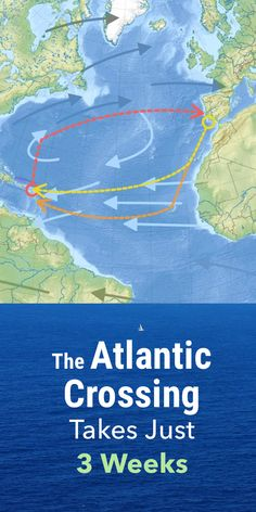 The Atlantic Crossing takes less time than you might expect. It will, however, bring some peace, and Ocean Sailing, Sailing Catamaran, Sailing Trips, Liveaboard Sailboat, Liveaboard Boats, Sailboat Living, Living On A Boat, Boat Navigation, Floating Boat Docks