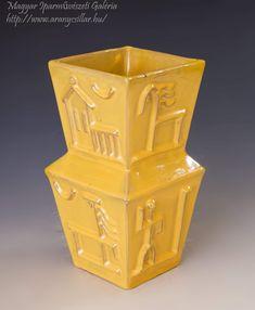 Yellow Art, Art Deco, Vase, Ceramics, Artist, Home Decor, Hall Pottery, Pottery, Decoration Home