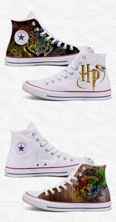 quality design 0d577 35a6f It s true! You can actually get custom Harry Potter Converse - and they  ship FRE