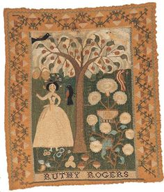N e e d l e p r i n t: American Folk Art Museum New York Online Collection