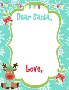 Dear Santa Freebie