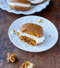 pumpkin whoopie pies. get in my mouth.