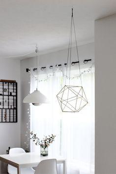 Brass Orb Himmeli / Air Plant Hanger