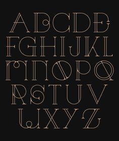Decora Font by Patrick Seymour