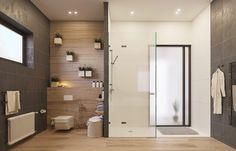 Inspiración: baños con mamparas de ducha - Decoratualma