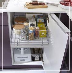 tourniquet angle meuble bas melton pour optimiser l'espace de ... - Tiroir Angle Cuisine