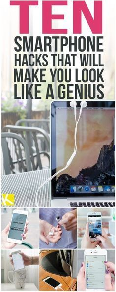 10 Genius Smartphone Hacks That Will Change Your Life. Fabulous tips!