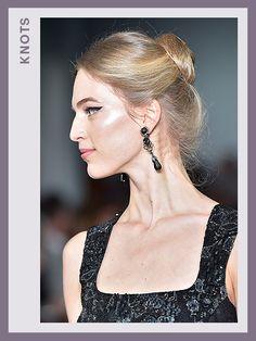 Fashion Week Hair - Oscar de la Renta | allure.com
