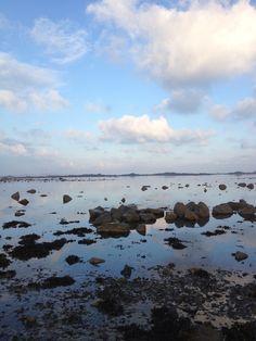 Une superbe journée  de janvier à Pleubian. Photo prise lors de l'une de mes balades matinales.