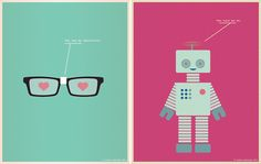 Left: You fog my spectacles. Right: You turn me on. Illustrations by Nicole Martinez.