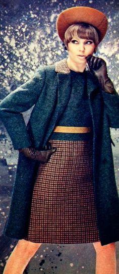 Coat fashion, Margriet (Dutch) December 1966