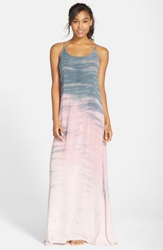 Hard+Tail+Drop+Back+Maxi+Dress+available+at+#Nordstrom