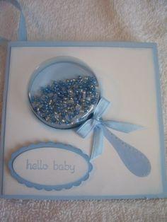 Cute baby card!