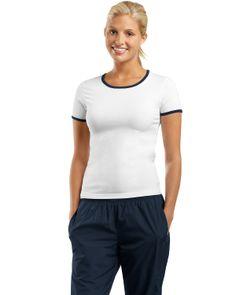 #Sport-Tek - #Women #Ringer #T-Shirt