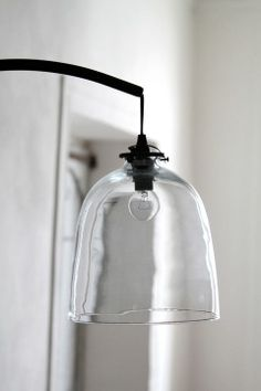 I love the simplicity of this. Replace our 80's looking sconce that's on our stair way with this please!