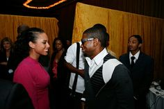 Alicia Keys & Usher