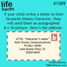 Disney Characters Mail Creative Inspiration, Life Hacks, Lifehacks, Useful Life Hacks