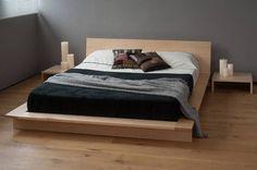 Oregon Low Platform Bed | Solid Wood | Natural Bed Company