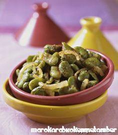 Tuinbonen zijn lekker en gezond en hieronder volgt een tuinbonenschotel op zn Marokkaans, geparfumeerd met thijm.Als je tuinbonen vers kunt krijgen, gebruik die dan liever maa
