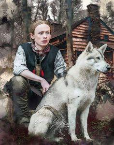 Outlander Tv, Outlander Series, John Bell, Drums Of Autumn, Starz Series, Portrait, Husky, Pets, Instagram