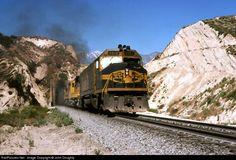 RailPictures.Net Photo: ATSF 5919 Atchison, Topeka & Santa Fe (ATSF) EMD F45 at Cajon Pass, California by John Doughty