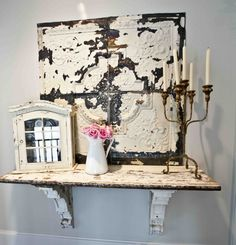 Architectural salvage adds so much detail to a home.  Here are several ways you can use salvage in your home.  Below you can see an antique …