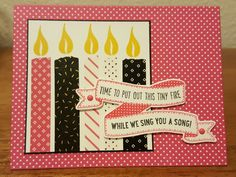 Washi Tape Tiny Fire by zipperc98 - Cards and Paper Crafts at Splitcoaststampers