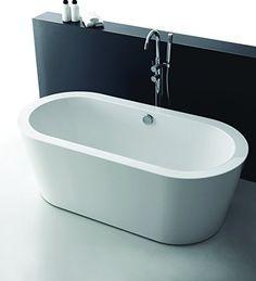 Bathroom sink stand alone bathtubs 70 ideas for 2019 Deep Bathtub, Modern Bathtub, Modern Bathroom, Freestanding Bathtub, Steam Showers Bathroom, Bathroom Toilets, Bathroom Showers, Bathrooms, Bathroom Fixtures