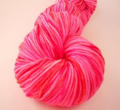 Love this hand dyed yarn!