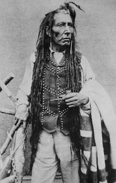 Poundmaker Cree tribe cheif wore locks