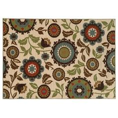 StyleHaven Ariel Floral Rug