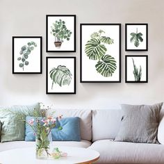 Whether printed or potted, plants breathe fresh air into a space.
