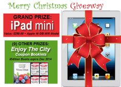 here is your chance to win a mini ipad for Christmas. And who would you give yours too? My little girl would go nuts :) Good luck my friends.