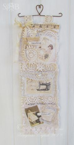 Shabby Art Boutique: Creative storage with a vintage twist. . .