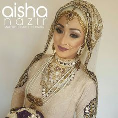 "491 Beğenme, 13 Yorum - Instagram'da a i s h a n a z i r (@aishanazirmua): ""NO TRIAL....And here is the completed Hijabi Bridal look created by @aishanazirmua For bookings…"""
