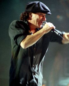 My favorite lead singer Brian Johnson