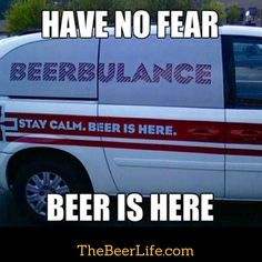 Hold on! Beer is on its way....