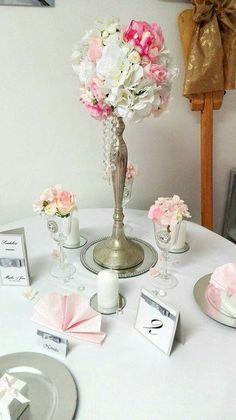 Glamour wedding decoration www.myday.sk