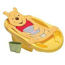 Disney Winnie The Pooh Bathtub, Sling & Rinsing Cup