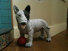 Mosaic Dog Iggy