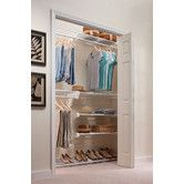 Found it at Wayfair - Expandable Reach-In Closet Organizer with Shoe Rack