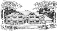 Eplans Victorian House Plan - Eight Bedroom Victorian Eclectic - 6204 Square Feet and 8 Bedrooms from Eplans - House Plan Code HWEPL67070 New favorite plan has a great tool shop area for dad and jeremy and lots of bedrooms for kids along with play area and adult area! really like it!
