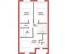 La trévise 92 a été spécialement conçue pour s'adapter aux terrains à très petite façade. Malgré sa faible façade, cette maison offre une surface habitable de 92 m² répartie sur 2 niveaux. Le rez-de-chaussée est consacré aux pièces de vie avec un séjour/salon de plus de 41 m² et des toilettes ...