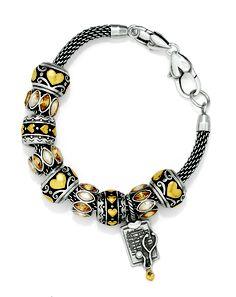 Heart Bead Bracelet - Brighton