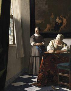 «Vermeer et les maîtres de la peinture de genre» : l'expo évènement !