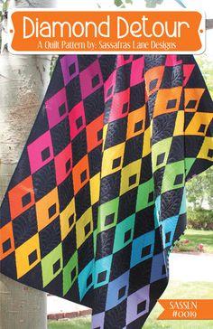 Diamond Detour - Quilt Pattern – Sassafras Lane Designs