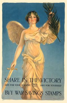 Poster WWI - 1918