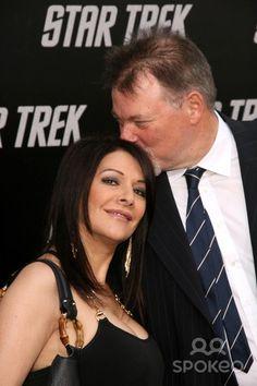 "Marina Sirtis | Marina Sirtis & Jonathan Frakes arriving at the ""Star Trek"" Premiere ..."